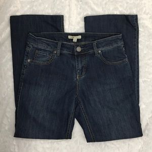 CAbi Medium Wash Bootcut Jeans Size 4 Short